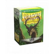 100 Dragon Shield Matte Lime