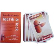 Jeu 54 cartes TacTik & Tock