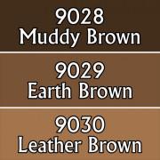 Reaper Master Series Paints Triads: Warm Deep Browns