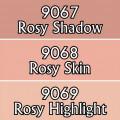 Reaper Master Series Paints Triads: Rosy Skintones 0