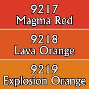 Reaper Master Series Paints Triads: Lava Colors