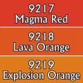 Reaper Master Series Paints Triads: Lava Colors 0