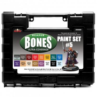 Reaper Master Series Paints: Ultra-Coverage Paints: Set #5
