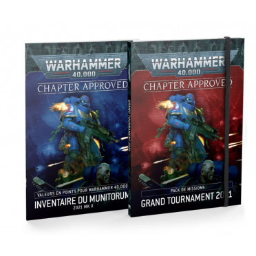 W40K : Chapter Approved - Pack de Missions Grand Tournament & Inventaire du Munitorum (2021)