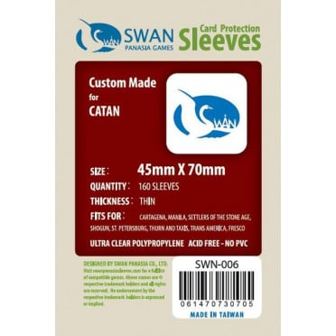 Swan Panasia - Card Sleeves Standard - 45x70mm - 160p