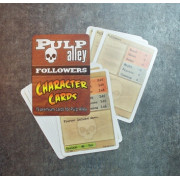 Pulp Alley: Character Cards - Allies