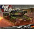 Team Yankee - West German Unit Cards 0