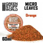 Micro Feuilles - Mélange Orange