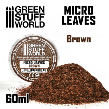 Micro Leaves - Brown Mix