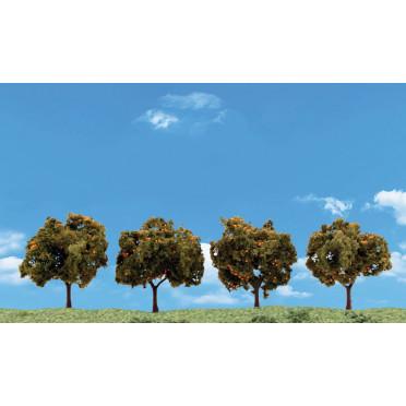 Woodland Scenics - 4x Orange Tree