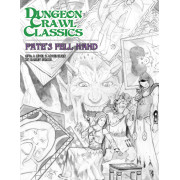 Dungeon Crawl Classics 78 - Fates Fell Hand Sketch Cover