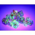 Set of 36 Chessex dice : Nebula 14
