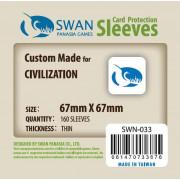 Swan Panasia - Card Sleeves Standard - 67x67mm - 160p