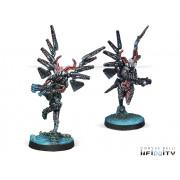 Infinity - Combined Army - Fraacta Drop Unit (Boarding Shotgun, Spitfire)