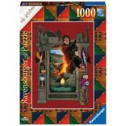 Puzzle - Harry Potter et la Coupe de Feu - Mina Lima - 1000 pièces