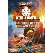 Escape Book Enfant - Koh-Lanta à la Recherche de l'Anneau d'Or