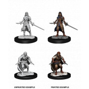 D&D Nolzur's Marvelous Unpainted Miniatures: Half-Elf Rogue Female