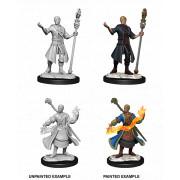 D&D Nolzur's Marvelous Unpainted Miniatures: Half-Elf Wizard Male