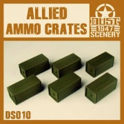 Dust - Allied Ammo Crate Set