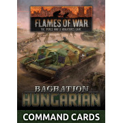 Flames of War - Bagration : Hungarian Command Cards