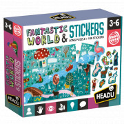 Fantastic World & Stickers - Long Puzzle