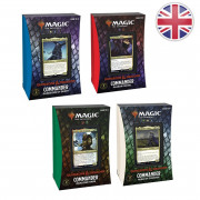 Magic The Gathering : Adventures in the Forgotten Realms - 4 Decks Commander Display