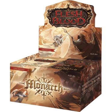 Flesh & Blood TCG - Monarch Unlimited Display 24 Boosters