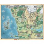 Dungeons & Dragons 5e Éd. : Faerûn - Carte du continent