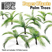 Plantes en Papier - Palmiers