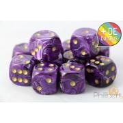 Set of 12 6-sided dice Chessex : Vortex