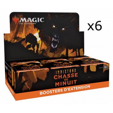 Magic The Gathering - Innistrad : Chasse de Minuit : Lot de 6 Boites de 30 Booster d'extension