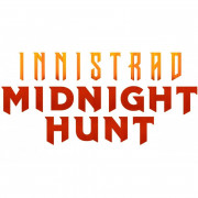 Magic The Gathering - Innistrad : Midnight Hunt - Theme Booster Display