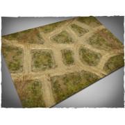 Terrain Mat Cloth - Cobblestone Streets V2 - 120x180