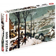 Puzzle - Brueghel - Chasseurs dans la neige - 1000 pièces