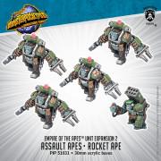 Monsterpocalypse - Protectors - Assault Apes & Rocket Ape