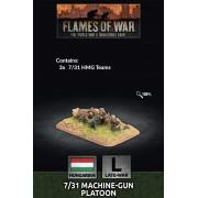 Flames of War - Hungarian 7/31 MG Platoon