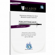 Sleeves Paladin - Nightingale Wider XL Plus - 127 x 153 mm - 55p