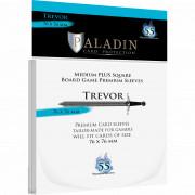 Sleeves Paladin - Trevor Medium Plus Square - 76 x 76 mm - 55p