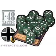 12 Volksgrenadier Division faction dice + exclusive limited edition weapon card