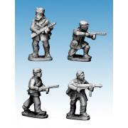 Partisans with Submachine Guns