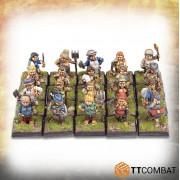 Fantasy Heroes - Halfling Ladyfolk