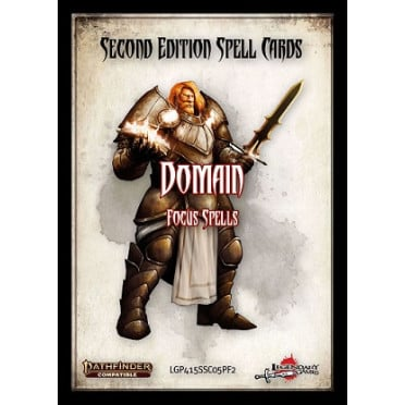 Domain Spell Card Set: Pathfinder Second Edition