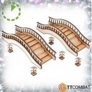Oriental Bridges and Lanterns