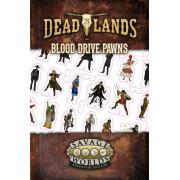 Deadlands The Weird West - Blood Drive Pawns