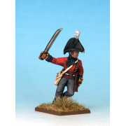 Mousquets & Tomahawks : British Regular Infantry Officer (1812)
