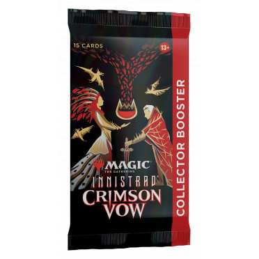 Magic The Gathering : Crimson Vow - Collector Booster