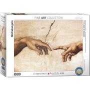 Puzzle 1000 Pièces - Michelangelo -Création d'Adam